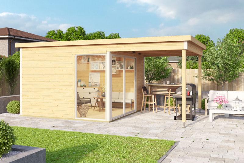 Allgäuer-Blockhaus_Gartenhaus-Domeo2